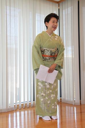 坂東流幹部師範・坂東 啓先生