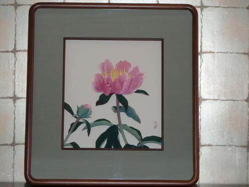 木場九華(清子) 「花の作品」
